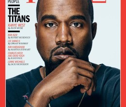 Capa da revista Time com Kanye West